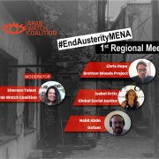 First meeting to launch the regional campaign against Austerity policies in the MENA region